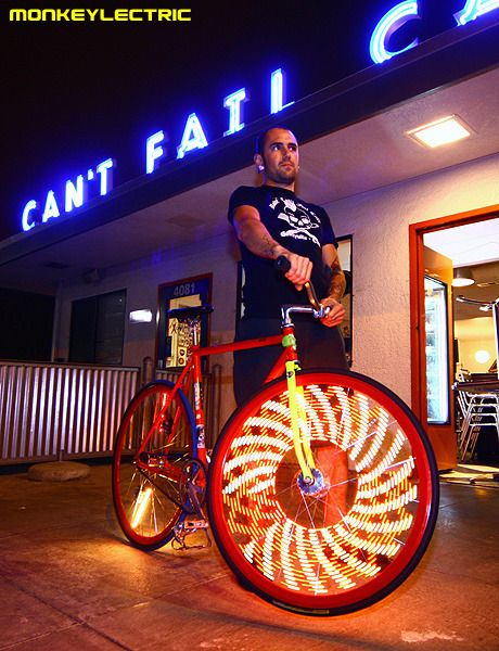 A New Style Of Bike Lighting