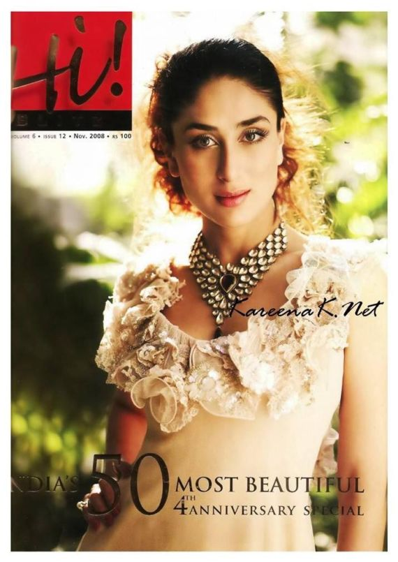 Kareena Kapoor for Hi Blitz November 2008