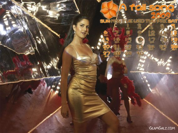 Click to Enlarge - Katrina Kaif Calendar 2009
