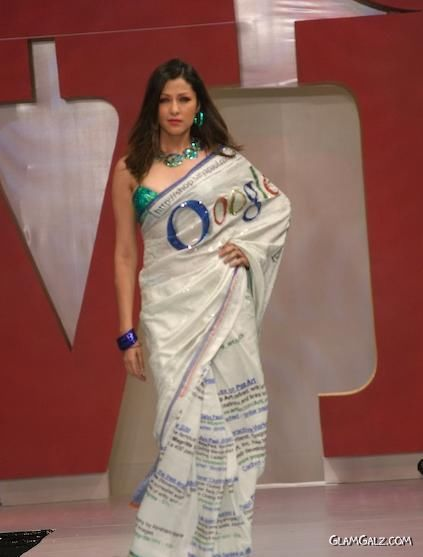 Google Saree Show by Satya Paul